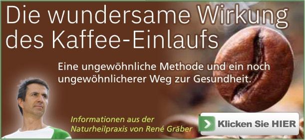 Buch: Kaffee-Einlauf von Rene Gräber