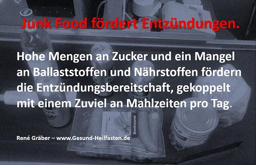 Junk Food fördert Entzündungen