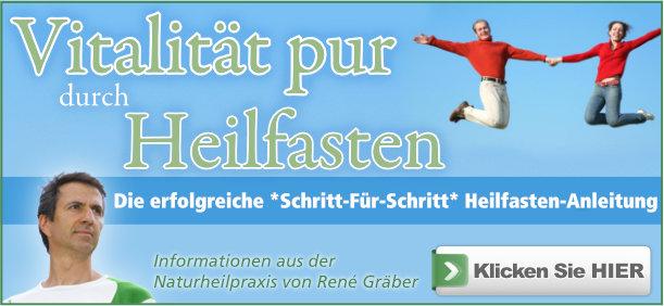 Buch: Heilfasten Anleitung von René Gräber