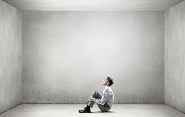 Mann traurig, Depression